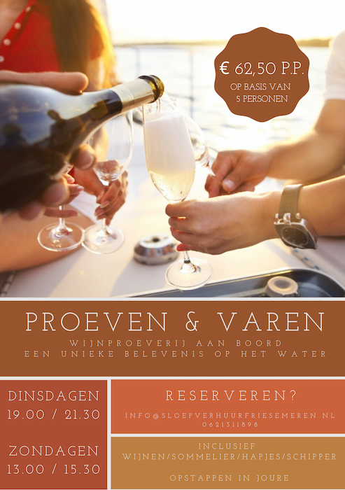 Proeven en varen Reis door de wijn